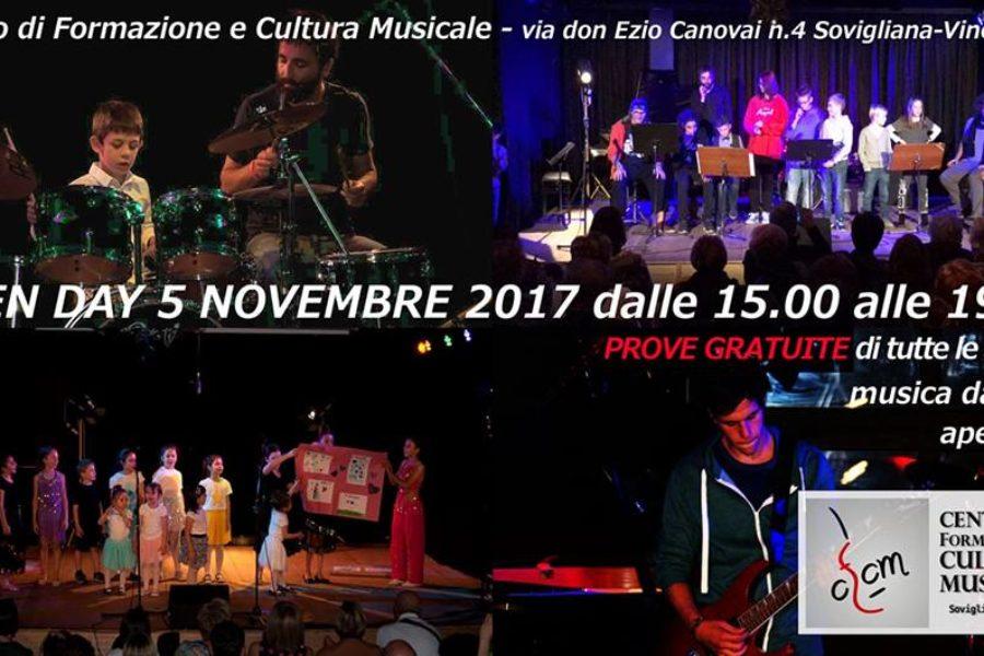 Open Day Musicale – Prove Gratuite!