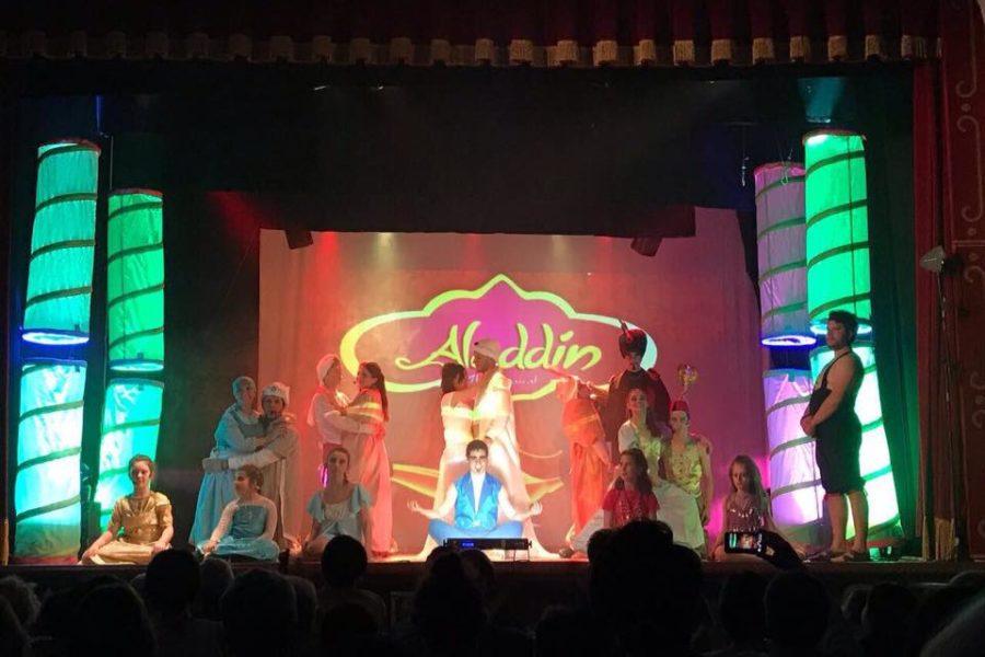 """Venerdì 8 dicembre alle ore 16,30 al Teatro Aurora di Fibbiana la Compagnia Teatrale Fantasia metterà in scena il musical """"Aladdin"""""""
