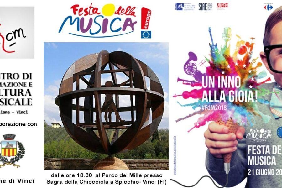 21 Giugno – Festa Della Musica 2018 – Sovigliana-Vinci